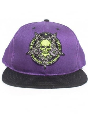 Flying Coffin Nocturnum Snapback - Purple