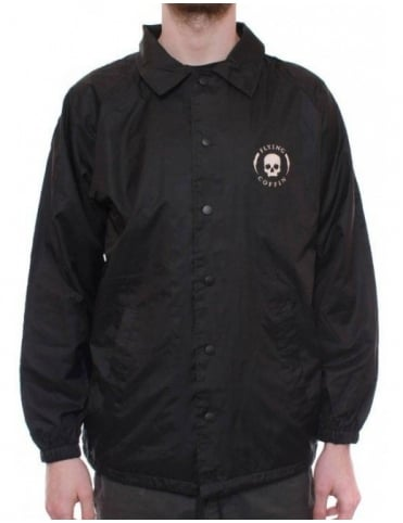 Flying Coffin Shocktrooper Coach Jacket - Black