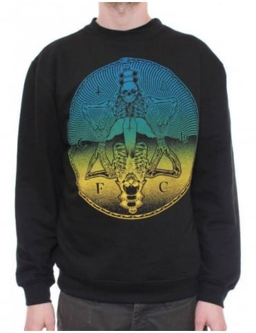 Flying Coffin Superius Crewneck - Black