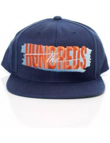 The Hundreds Hailmary Snapback - Navy