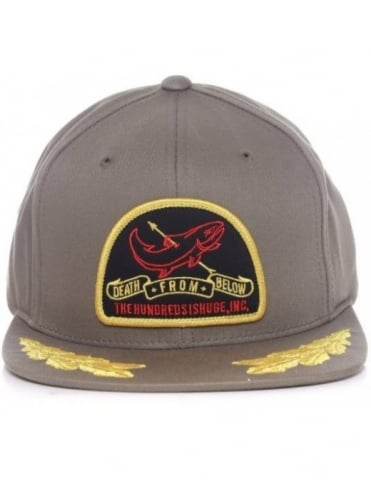 The Hundreds Beat Snapback - Olive