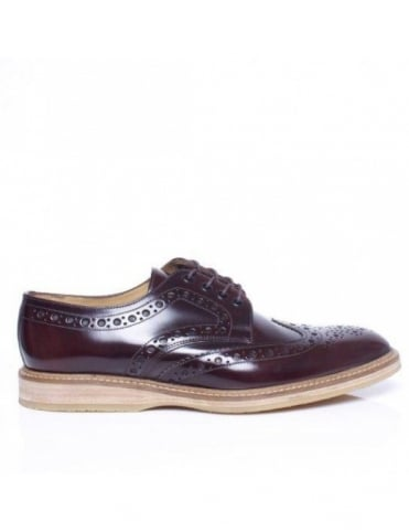 Loake Wedge - Oxblood