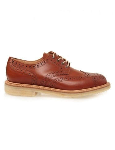 Sanders Alfie - Light Tan Brogue