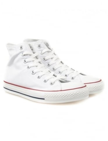 Converse All Star Hi Shoes - Optic White