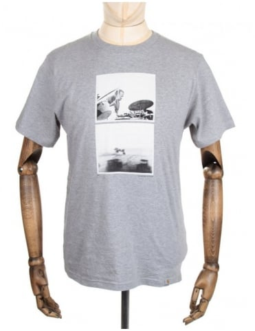 Carhartt Drummer Tee - Heather Grey