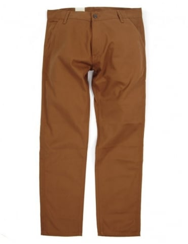 Carhartt Lincoln Simple Pant - Hamilton Brown