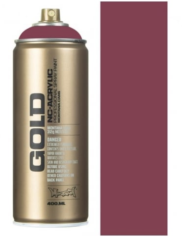 Montana Gold Ancient Pink Spray Paint - 400ml