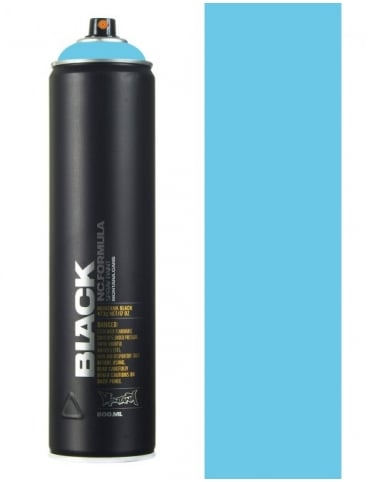 Montana Black Baby Blue Spray Paint - 600ml