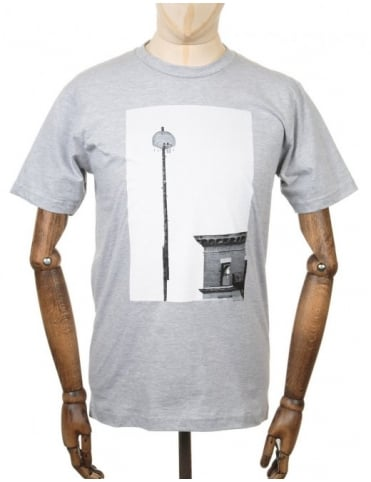 Only NY Clothing Higher Goals Photo T-shirt - Heather Grey