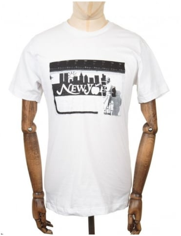 Only NY Clothing Painters Photo T-shirt - White
