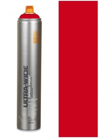 Montana Black Ultra Wide Spray Paint - Red