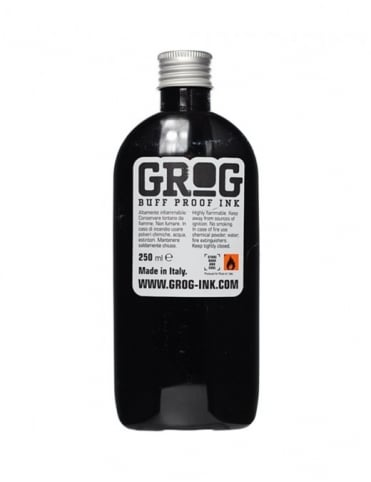 Grog Ink Full Metal Paint Refill 200ml - Burning Chrome