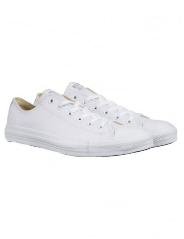 Converse Chuck Taylor OX Leather Shoes - White