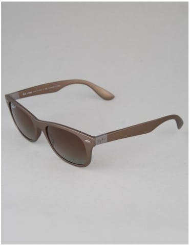 Ray-Ban Tech Liteforce Sunglasses - Matte Brown // Polarized Brown