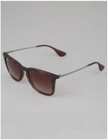 Ray-Ban Youngster Sunglasses - Dark Rubber Havana // Brown