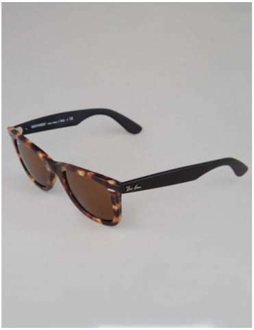 Ray-Ban Original Wayfarer Sunglasses - Spotted Brown Havana // Brown