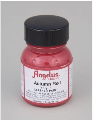 Angelus Dyes & Paint Autumn Red 1oz - Leather Paint