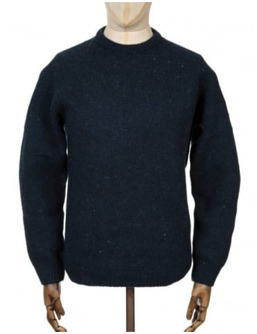 Carhartt Anglistic Sweater - Navy Heather