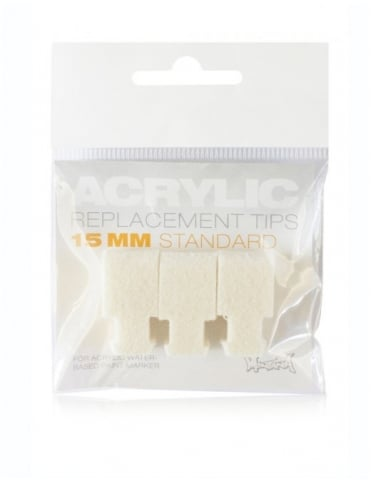 Montana Gold 15mm Replacement Acrylic Marker Tips