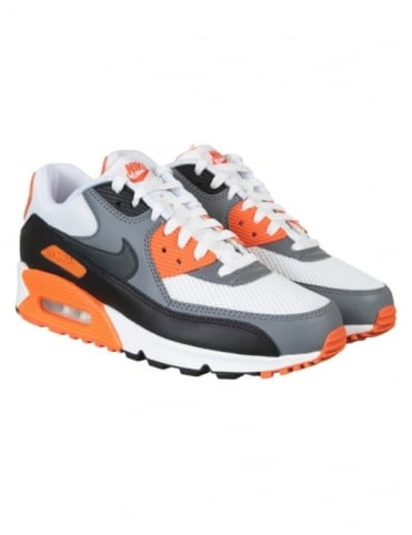 Nike Air Max 90 Essential Shoes - White/Anthracite