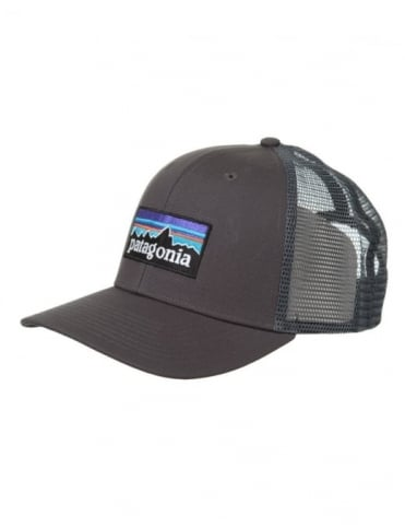 Patagonia P-6 Logo Trucker Hat - Forge Grey