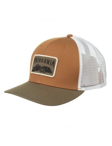 Patagonia Climb A Mountain Trucker Hat - Bear Brown/Java