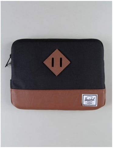 Herschel Supply Co Heritage Ipad Air Sleeve - Black/Tan