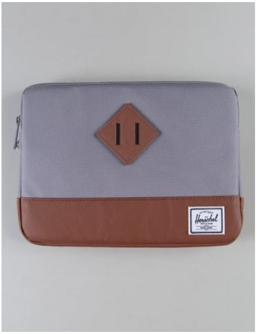 Herschel Supply Co Heritage Ipad Air Sleeve - Grey/Tan