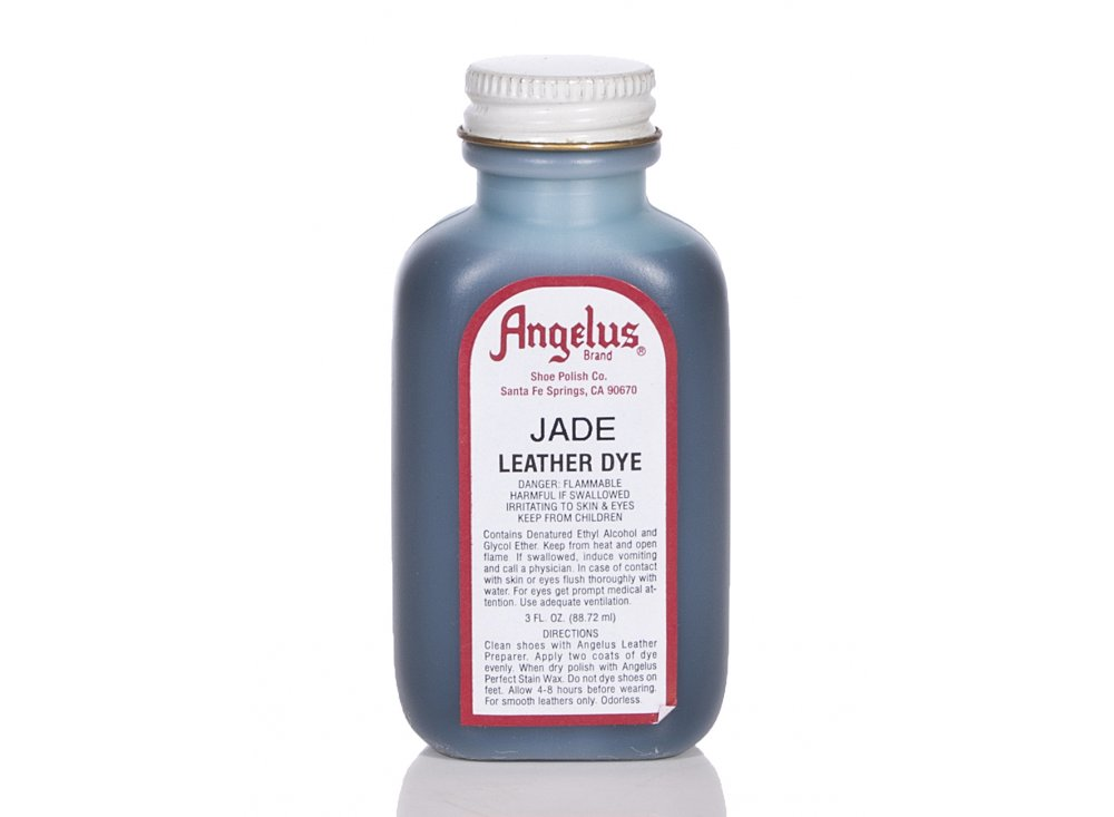 angelus dyes paint jade 3oz leather dye leather. Black Bedroom Furniture Sets. Home Design Ideas