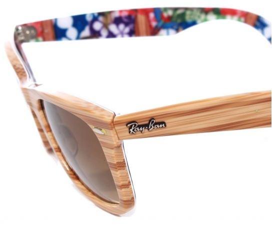 ray ban wood frame sunglasses - Wood Framed Sunglasses