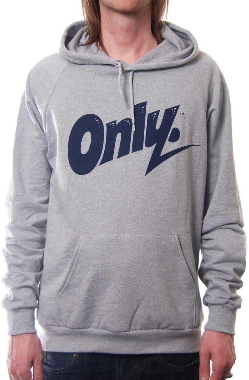 only ny clothing flash logo hoody grey sweats