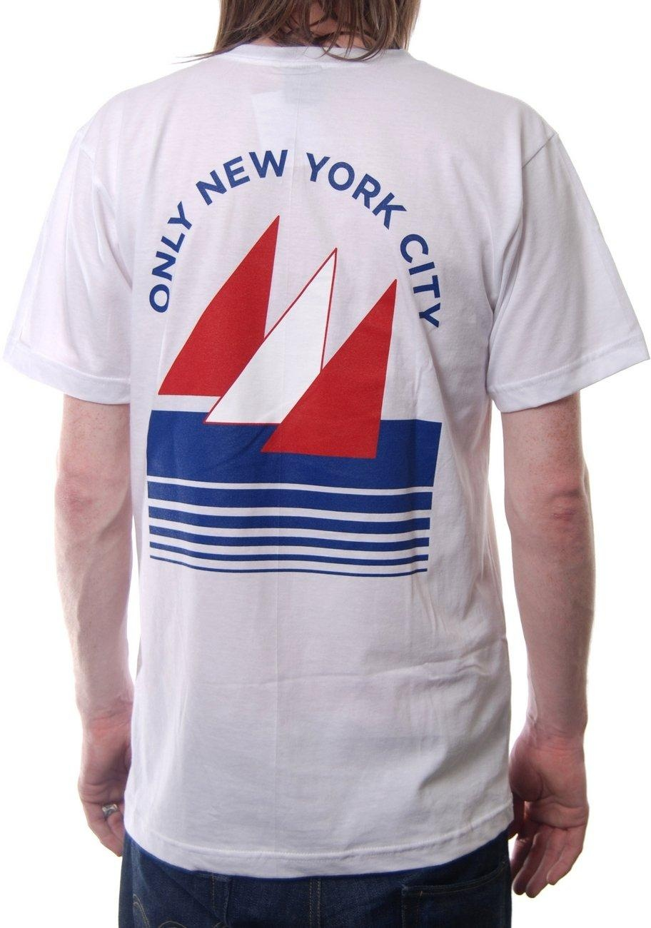 only ny clothing yacht club white t shirts from