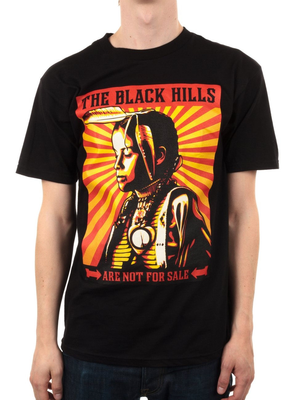 Not Clothing But Makeup Is Just As Important To Finish A: Obey Clothing Black Hills Are Not For Sale