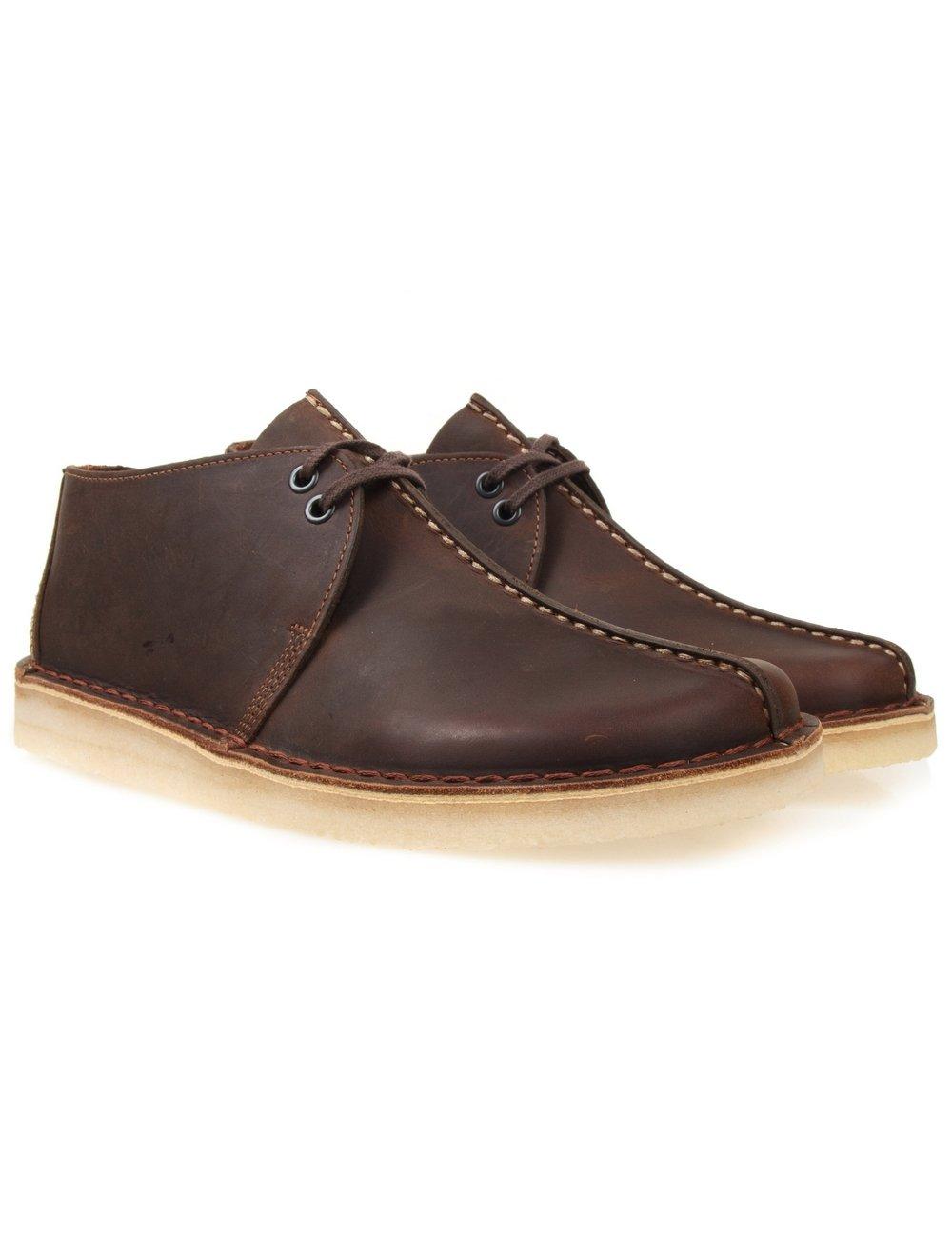 Clarks Originals Desert Trek Shoes Beeswax