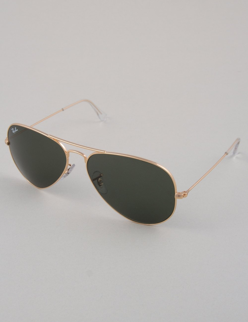 ray ban aviator large sunglasses gold green. Black Bedroom Furniture Sets. Home Design Ideas