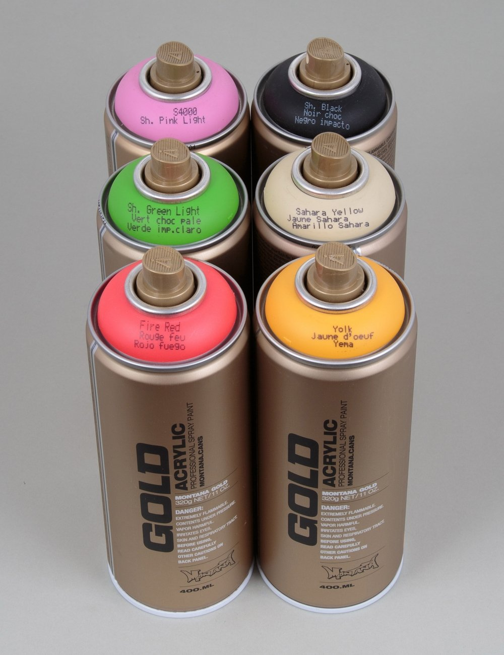 Montana Gold Spray Paint Deal 6 Cans Spray Paint Supplies From Iconsume Uk