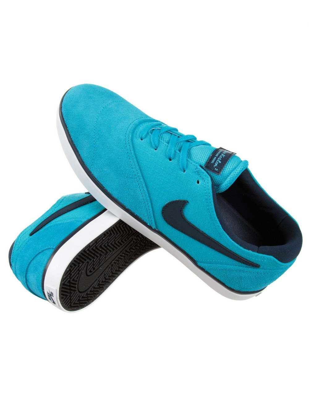 Nike SB Eric Koston 2 Shoes - Blue Lagoon - Trainers from ...