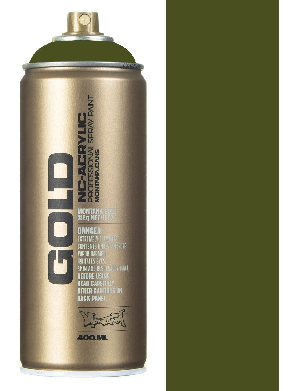 Montana Gold Olive Green Spray Paint 400ml Spray Paint Supplies From Iconsume Uk