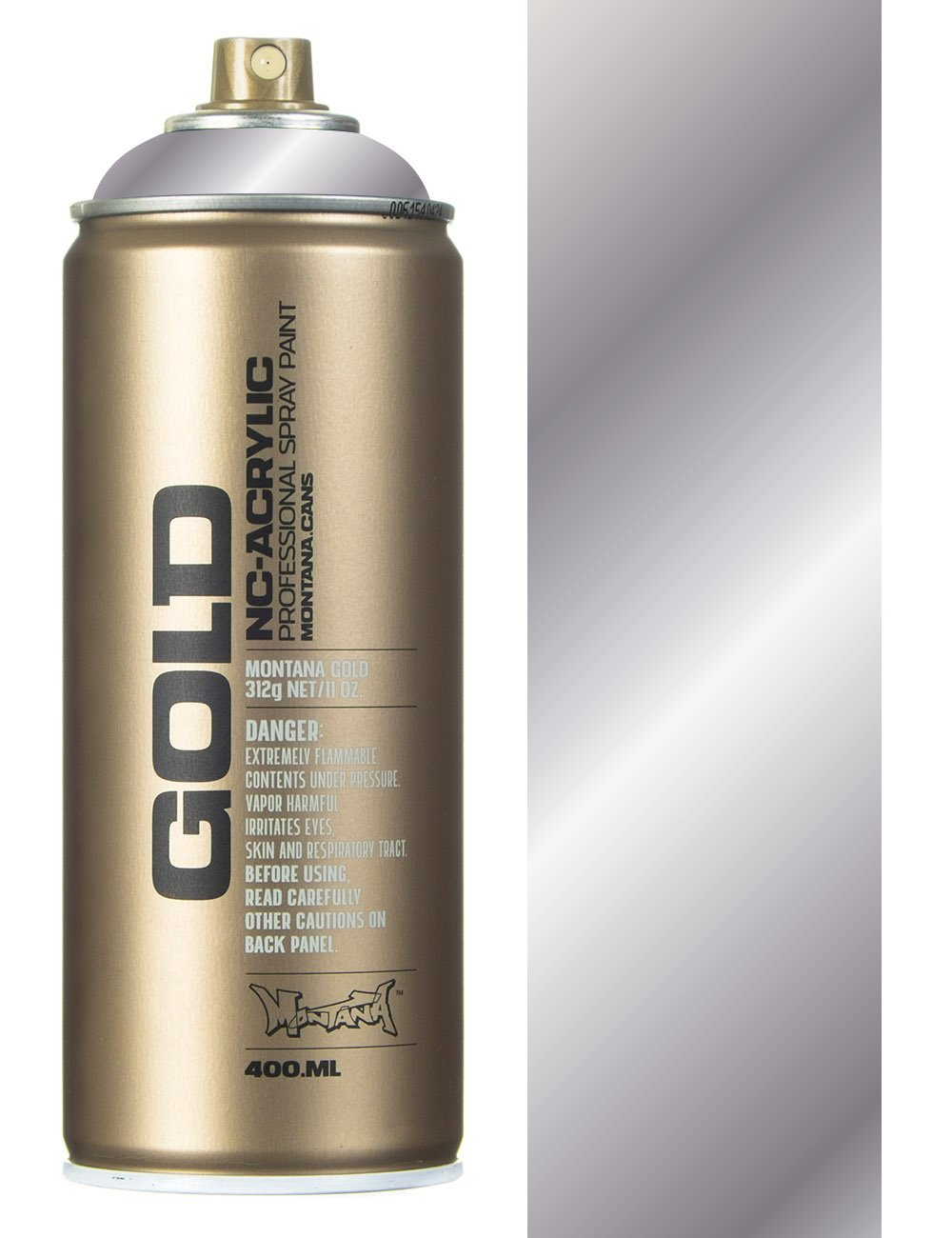 Montana Gold Silver Chrome Spray Paint 400ml Spray Paint Supplies From Iconsume Uk