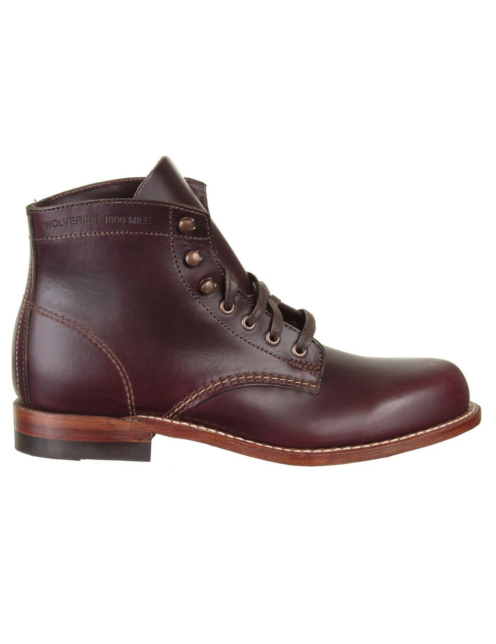 wolverine 1000 mile boot cordovan no 8 casual shoes