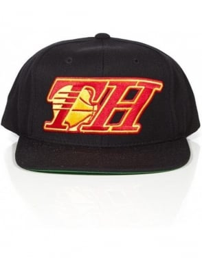 The Hundreds Show Snapback - Atlanta - Red/Yellow