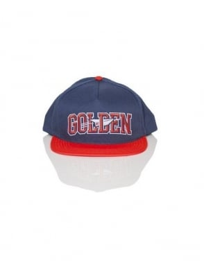 Benny Gold Golden Snapback - Navy/Orange