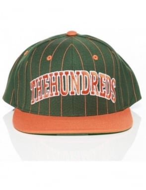 The Hundreds Pins Snapback - Green