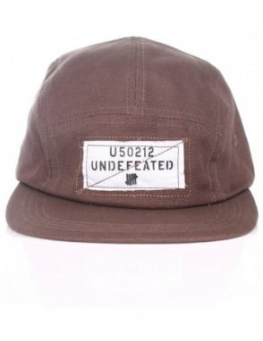 Undefeated Overlay Camper Hat - Olive