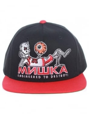 Mishka Point Guard Starter Cap - Black