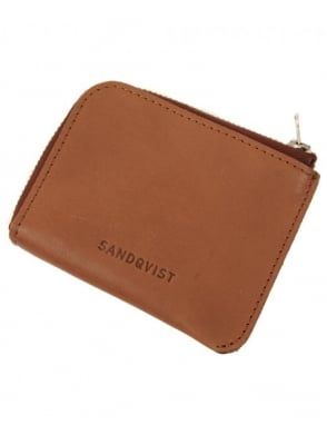 Sandqvist Wilma Wallet - Tan Brown