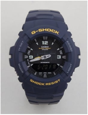 G-Shock G-100-2BVMES Watch - Blue