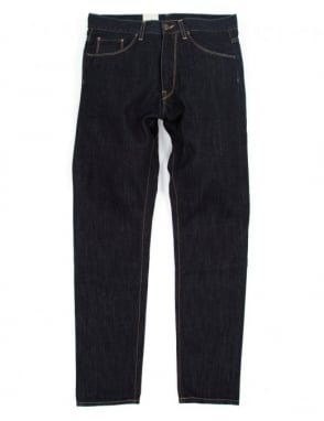 Carhartt Vicious Pant - Blue Rinsed (Merced Denim)