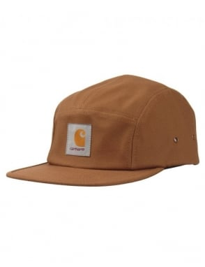 Carhartt Backley 5 Panel Cap - Hamilton Brown