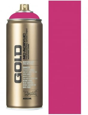 Montana Gold Shock Pink Spray Paint - 400ml